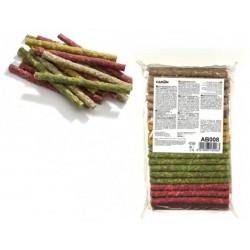 Camon Colourful beef-hide straws - солети микс 12 см. / 900 гр.