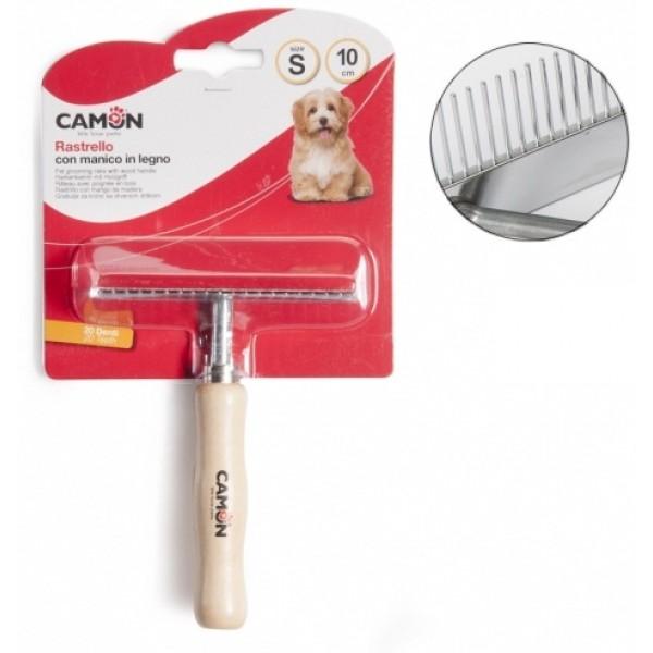 Camon Едноредов Гребен за кучета с метални зъбци
