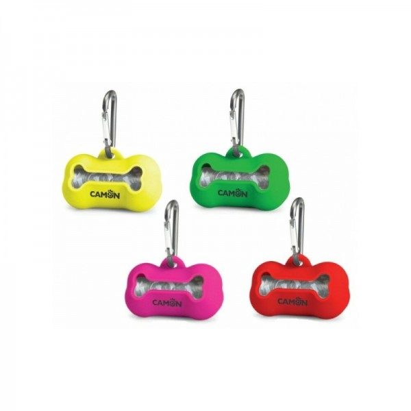 Camon Silicone Waste Bag Dispenser - Камон Контейнер Хигиенни Пликчета за куче
