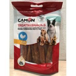 Camon Treats & Snacks- Лакомство-ленти за куче с пиле 80 гр.