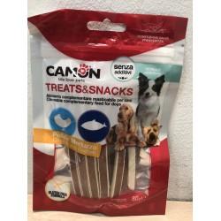 Camon Treats & Snacks- Лакомство-ленти за куче с пиле и риба 80 гр.