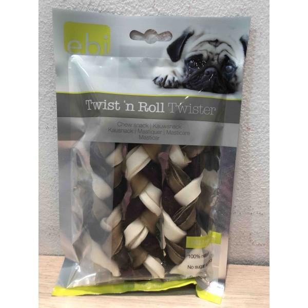 Ebi Twist&Roll Twister плитка - Лакомство за кучета 80г.