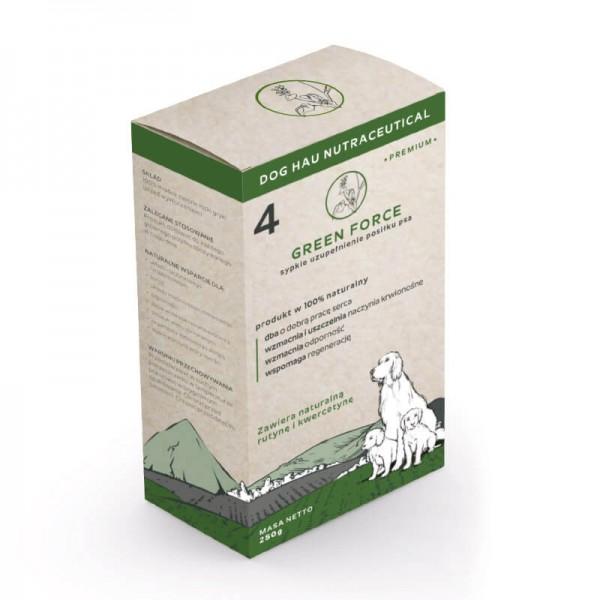 Complete Foods Dog Hau Nutraceuticals Green Force - Хранителна добавка Зелена Сила за общо укрепване на организма на кучето с високо съдържание на антиоксиданти