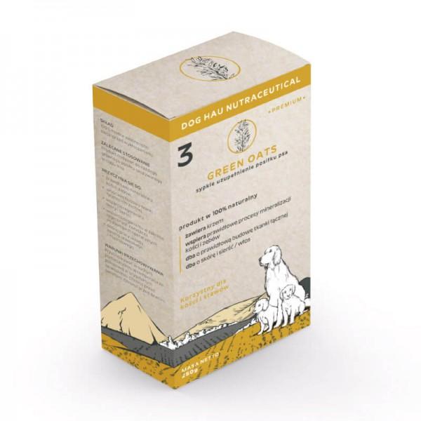 Complete Foods Dog Hau Nutraceuticals Green Oats - Хранителна добавка със Зелен Овес - подпомагаща процесите на минерализация на костите и зъбите