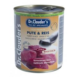 Dr. Clauder's Selected Meat Pute Reis - пуешко месо и ориз/Pre Biotics/