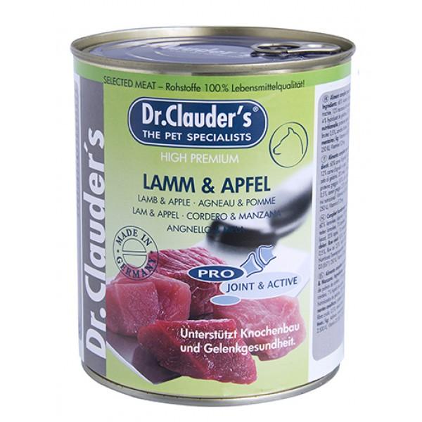 Dr. Clauder's Selected Meat lamb and apples - агнешко и ябълки за кученца със ставни проблеми