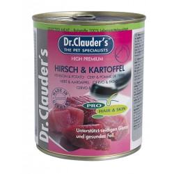 Dr. Clauder's Selected Meat Pro Hair Skin stag and potatoes - елен и картофи за кученца с проблемна кожа и козина