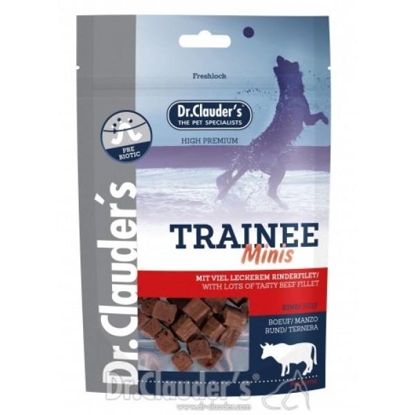 Dr. Clauder's Trainee MINIS - лакомство за кучета от говеждо филе за дребни породи 50 гр/pre biotik/