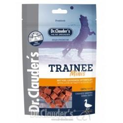 Dr. Clauder's Trainee MINIS - лакомство за кучета от патешко филе за дребни породи 50 гр/pre biotik/