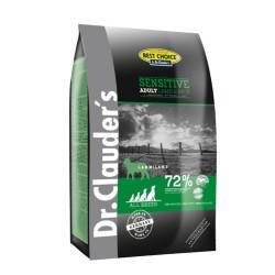 Dr. Clauder Sensitive Adult All Breed Lamb-Rice, Aгнешко и ориз за куче - Промоция 12,5 кг + 4кг подарък