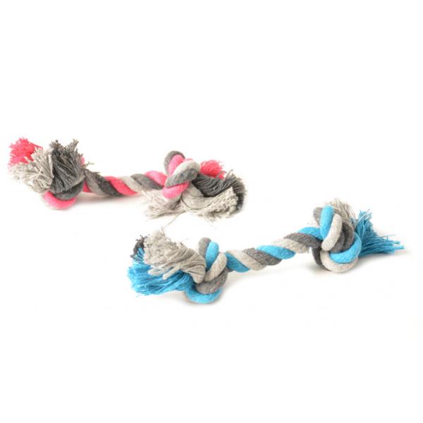 Duvo играчка за кучета от малка порода - въже с 2 възела, 12см