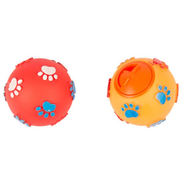 Duvo играчка за кучета - топка за лакомства, 7,5 см