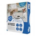 Duvo автоматична хранилка за 5 порции за кучета и котки