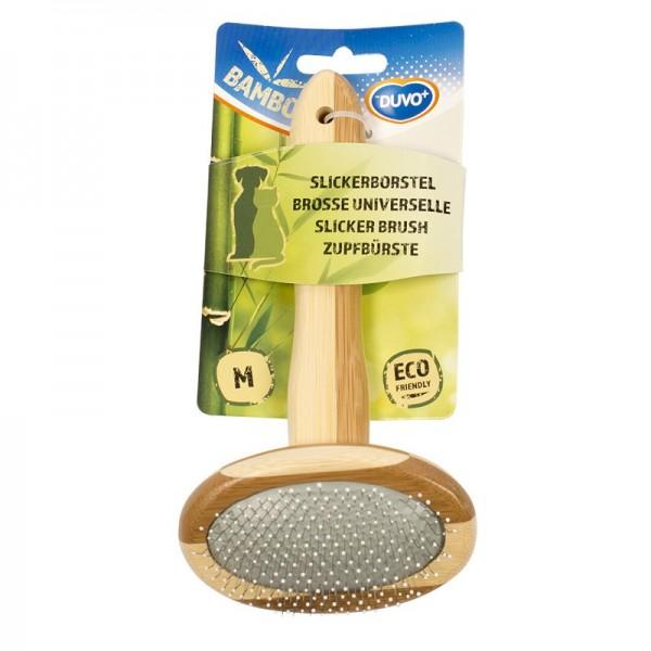 Duvo бамбукова четка за кучета