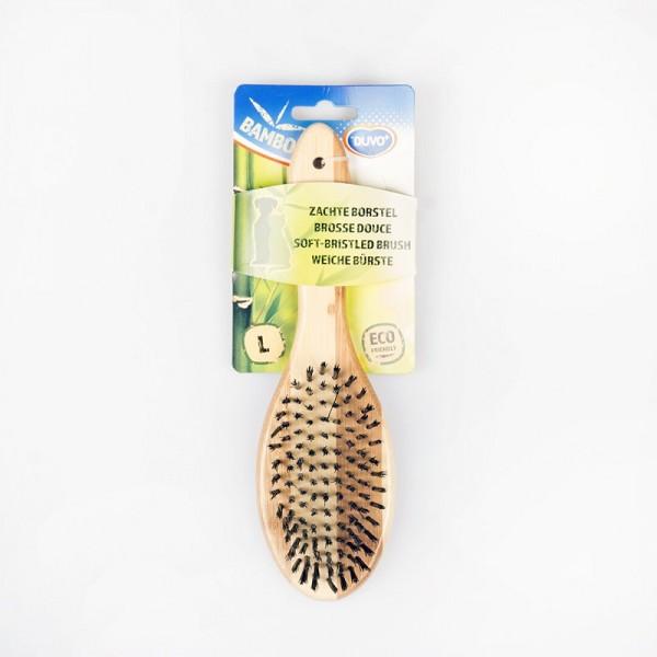 Duvo бамбукова четка с мек косъм за кучета