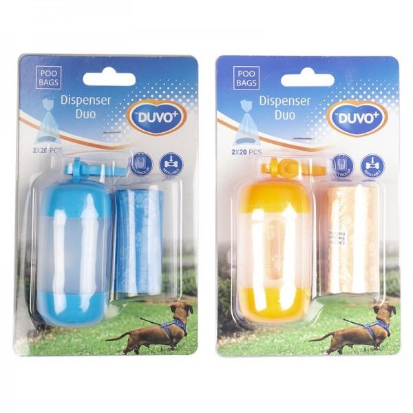 Duvo диспенсър за хигиенни торбички за кучета в два цвята