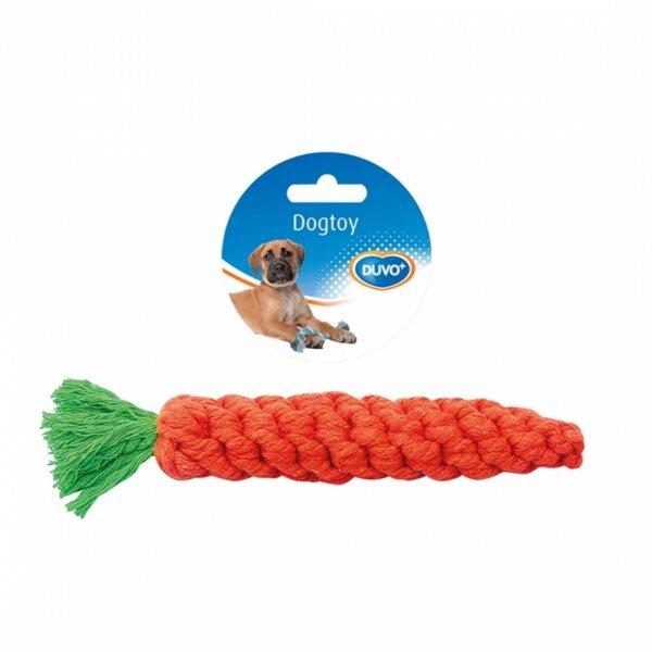 Duvo въженце от морков - играчка за кучета, 20 см