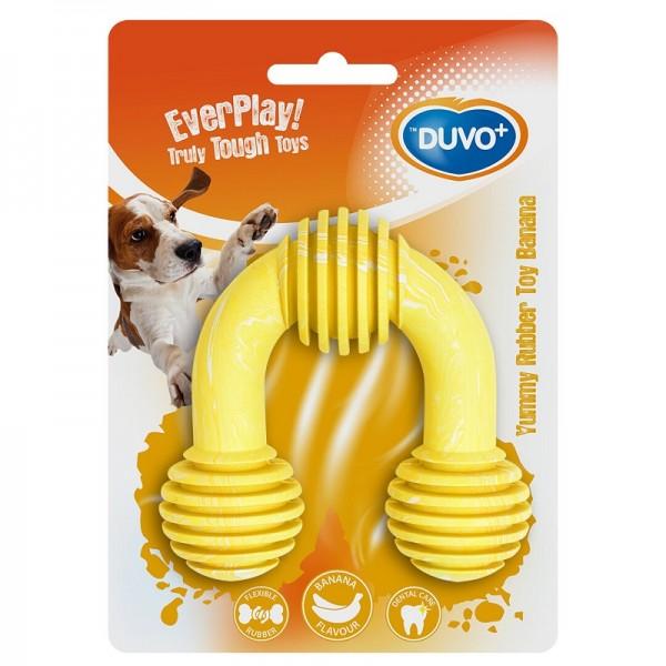 Duvo играчка с аромат на банан U-toy за кучета