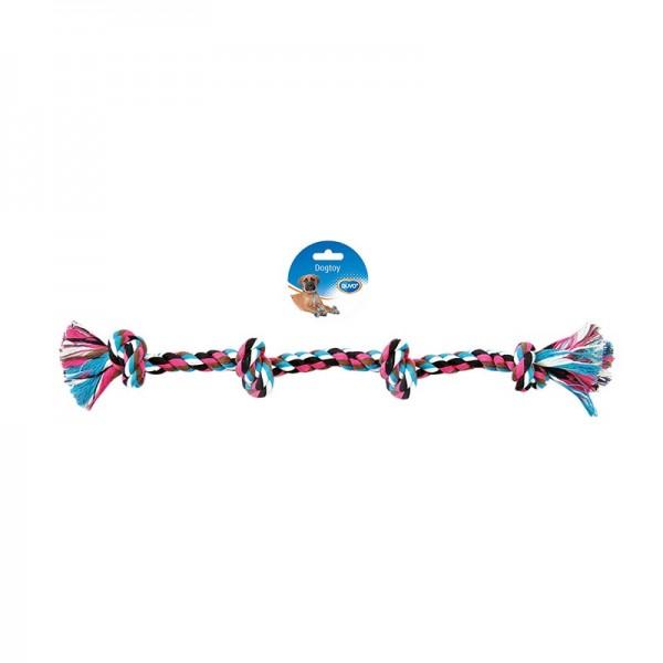 Duvo въже с четири възела  за кучета 55 см