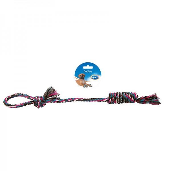 Duvo въжена играчка за дърпане с дръжка за кучета 48 см