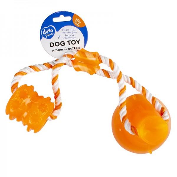 Duvo играчка за дърпане с вакуум Tug'n chew за кучета