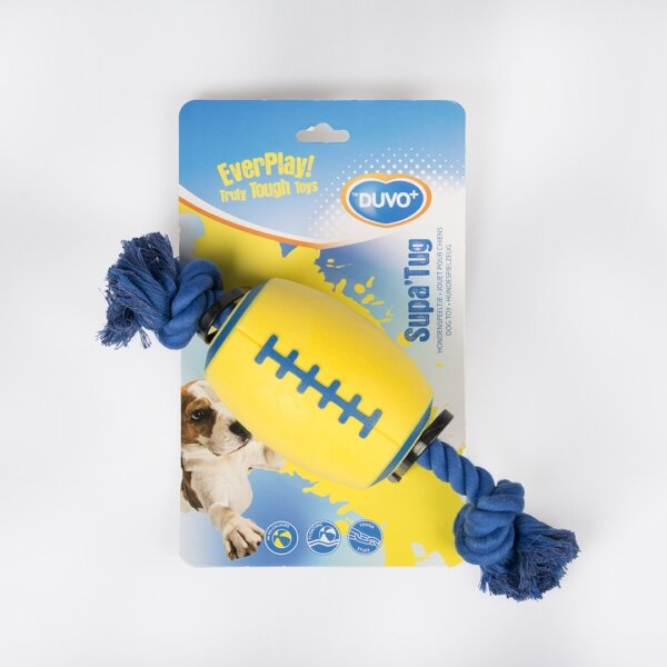 Duvo Supa'tug играчка за кучета с въже