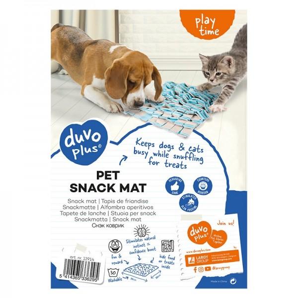 Duvo интерактивно килимче за криене на лакомства за кучета и котки