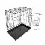 Duvo Метална клетка за куче с две врати