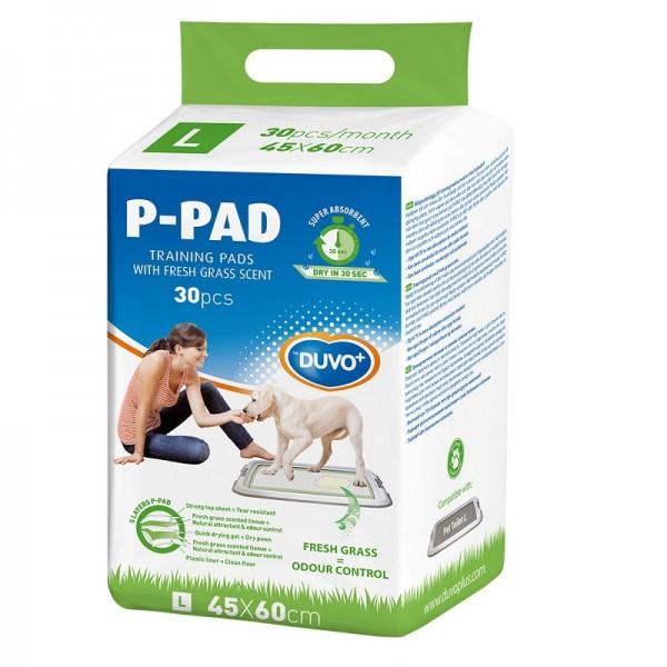 Duvo P-pad подложки за малки кученца с аромат на трева