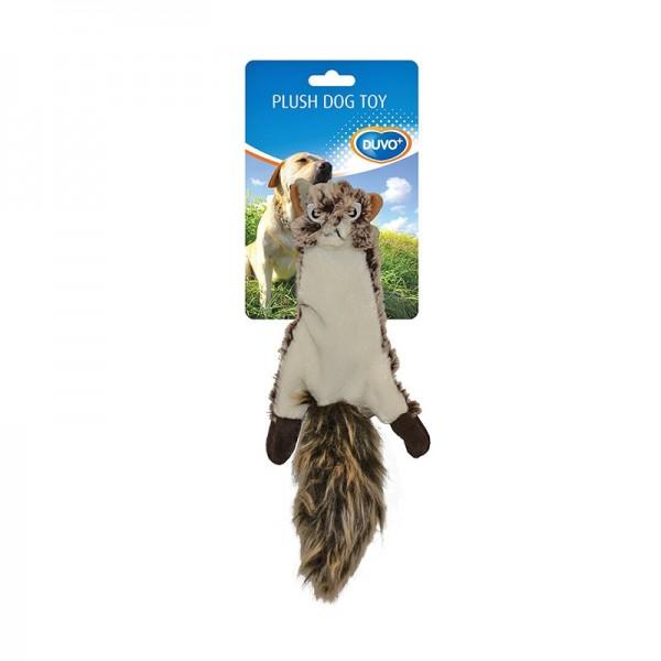 Duvo мека плюшена играчка за кучета  - катерица