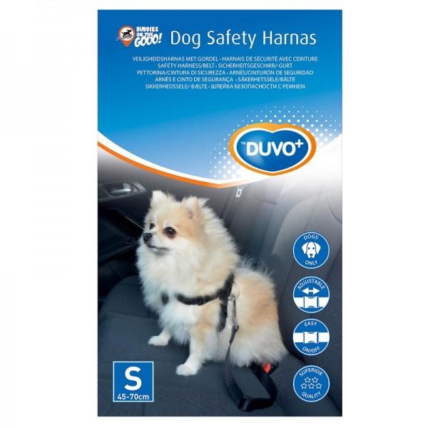 Duvo предпазен нагръдник за кучета за безопасно возене в кола