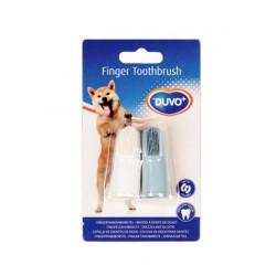 Duvo силиконови четки за зъби за кучета, 2бр.