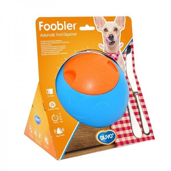 Duvo топка диспенсър с таймер за лакомства за кучета