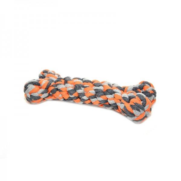 Duvo въжен кокал за кучета 14 см/ 23 см