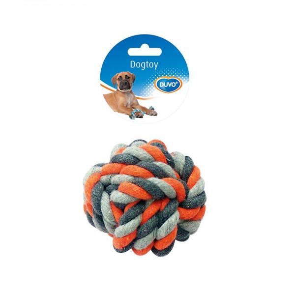 Duvo въжена топка за кучета 13 см