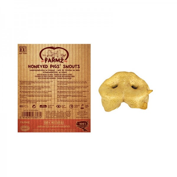 DUVO лакомство за кучета зурла с мед, 1бр. - 100% свинско месо