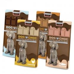 Ebi dog choc - шоколад за кучета с вкус на фъстъчено масло 100 гр.