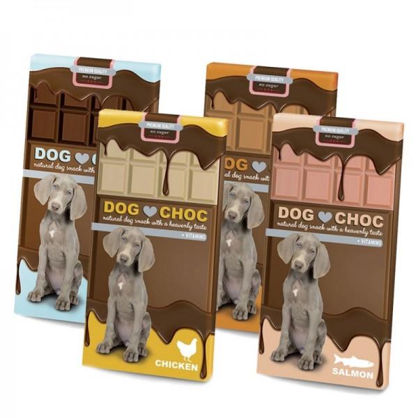 Ebi dog choc - шоколад за кучета с вкус сьомга 100 гр.