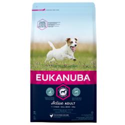 Eukanuba Active Adult  Small Breed - Еукануба Храна за Кучета за Дребни Породи Възрастни над 1 год.