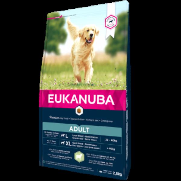 Eukanuba Adult Large Breeds Lamb and Rice - Еукануба Храна за Възрастни Кучета от Големи Породи с Агнешко и Ориз