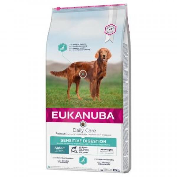 Eukanuba Sensitive Digestion Възрастни над 1 год. Чувствително Храносмилане