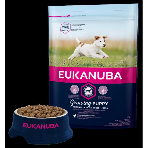 Eukanuba Small Breed Puppy  Дребни Породи Бебета Пилешко