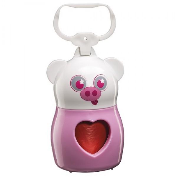 Dudu Animals Pig Bags Dispenser - Дуду Държач за Хигиенни Торбички за Кучета