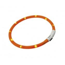 Ferplast NIGHT OVER  - светещ нашийник с USB за кучета