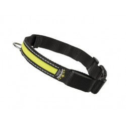 Ferplast NIGHT - светлоотразителен светещ нашийник за кучета