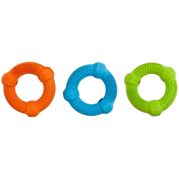 FLAMINGO дентална играчка за кучета, комплект RUFFUS РИНГ 12см