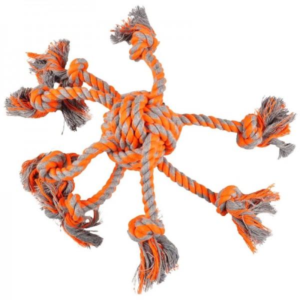 FLAMINGO въже играчка за куче - октопод