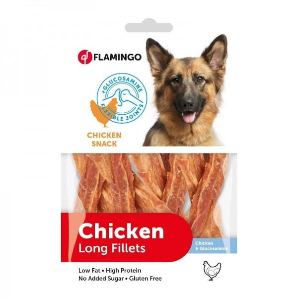 FLAMINGO CHICK'N SNACK  снакс за кучета за гъвкави стави 85 гр