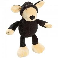 FLAMINGO плюшена играчка черна овца за кучета 25 см