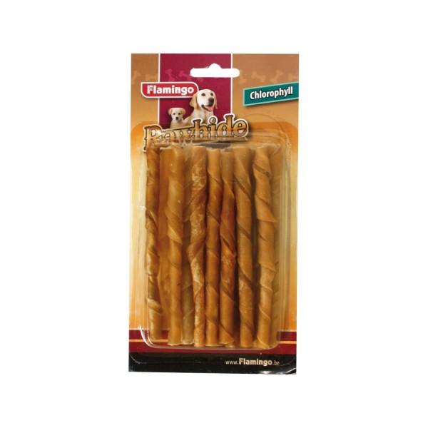 FLAMINGO кожени солети за кучета 15 бр.